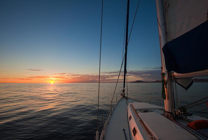Sunset Sailing em Lisboa